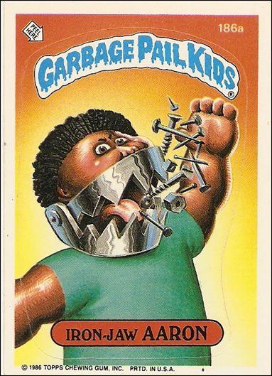 Garbage pail kids series 05 base set 186a a by topps