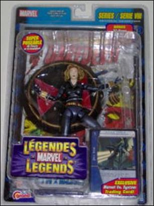 Marvel Legends (Series 8) Black Widow (Yelena Belova - Blonde Hair) (Canada)