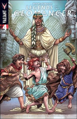 Book of Death: Legends of the Geomancer 4-A