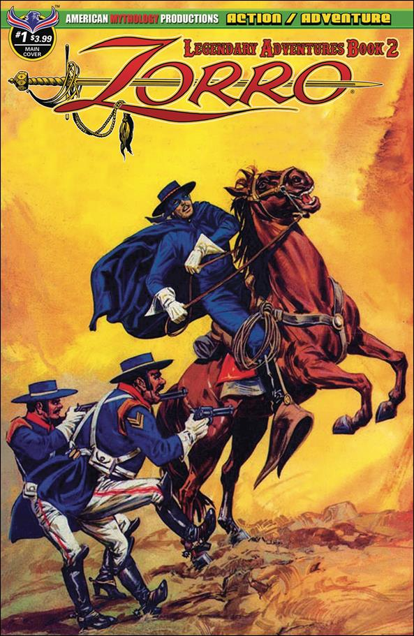 Zorro: Legendary Adventures Book 2 1-A by American Mythology
