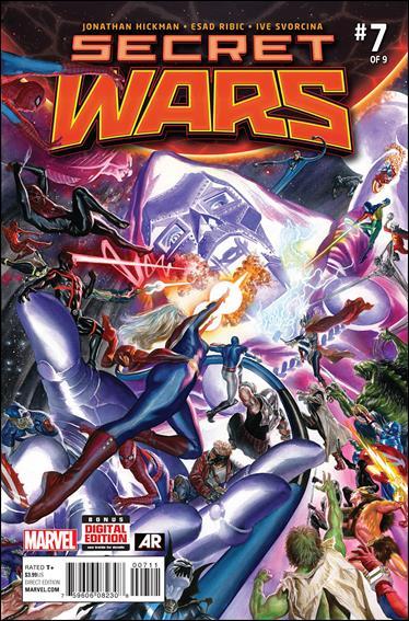 Secret Wars 7-A by Marvel
