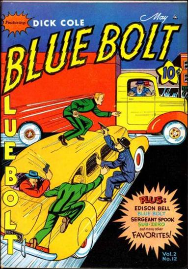 Blue Bolt (1941) 12-A by Novelty Press