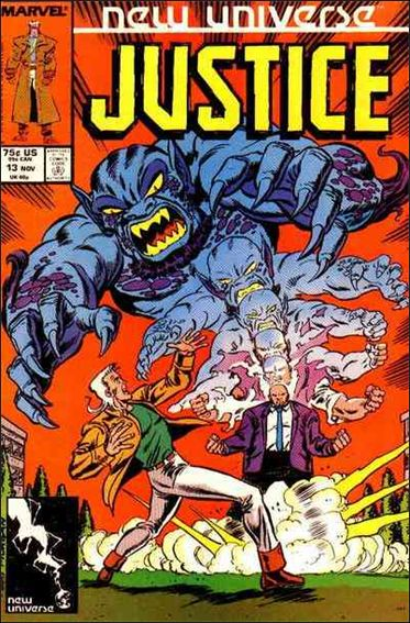 Justice (1986) 13-A by Marvel
