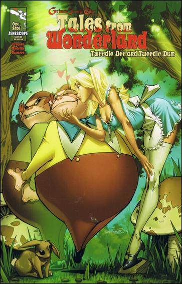 Tales from Wonderland: Tweedledee & Tweedledum 1-A by Zenescope Entertainment