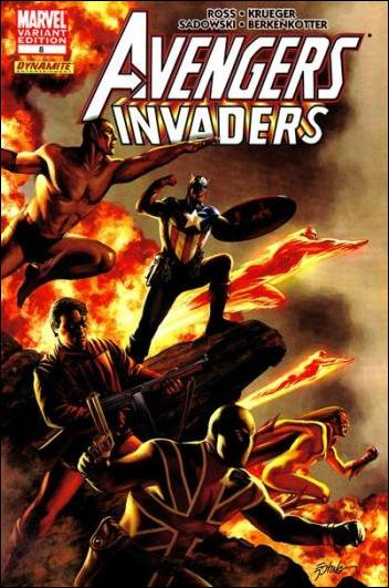 Avengers/Invaders 8-B by Marvel