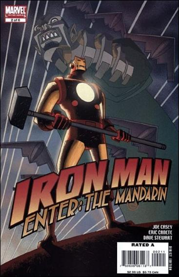 Iron Man: Enter the Mandarin 2-A by Marvel