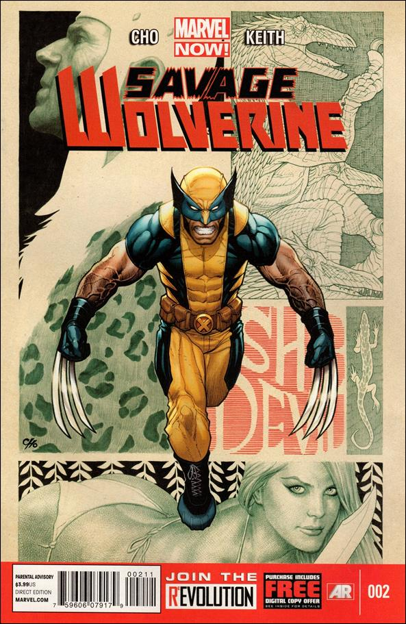 Savage Wolverine 2-A by Marvel