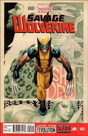 Savage Wolverine 2-A