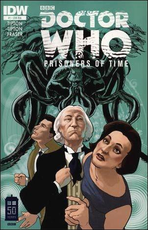 Doctor Who: Prisoners Of Time  1-B by IDW