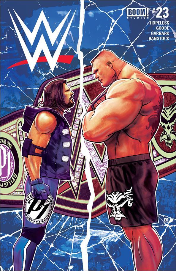 WWE 23-A by Boom! Studios