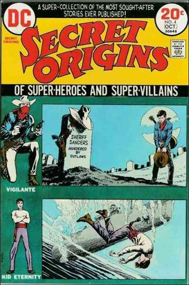Secret Origins (1973) 4-A by DC