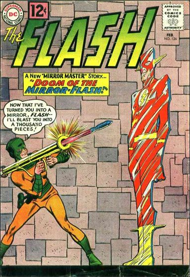 Flash (1959) 126-A by DC