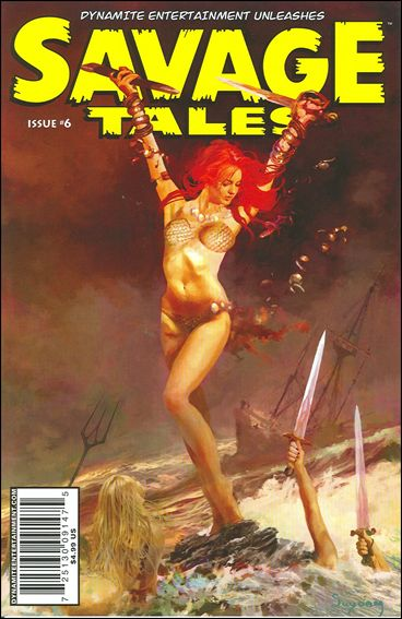 Savage Tales (2007) 6-A by Dynamite Entertainment