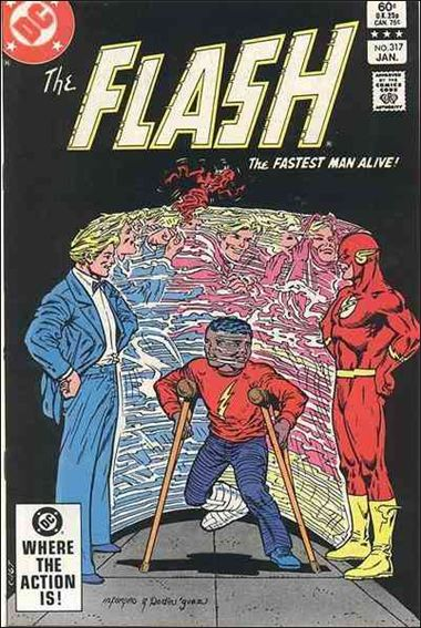Flash (1959) 317-A by DC