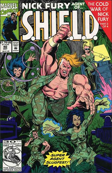 Nick Fury, Agent of S.H.I.E.L.D. (1989) 40-A by Marvel