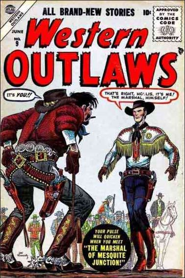 Western Outlaws (1954) 9-A by Atlas