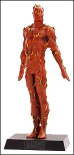 Classic Marvel Figurine Collection (UK) Human Torch by Eaglemoss Publications
