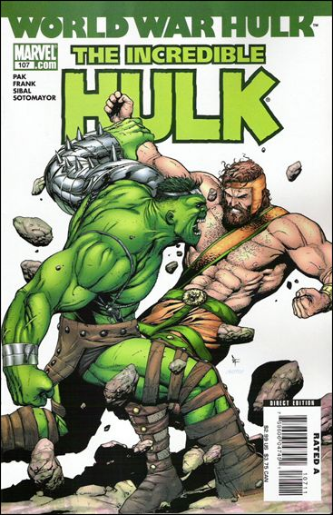 Incredible Hulk (2000)  107-A by Marvel