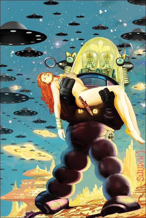 Mars Attacks Red Sonja 1-U by Dynamite Entertainment