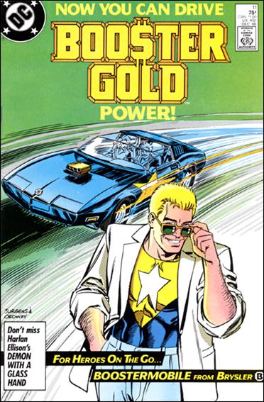 Booster Gold (1986) 11-A by DC