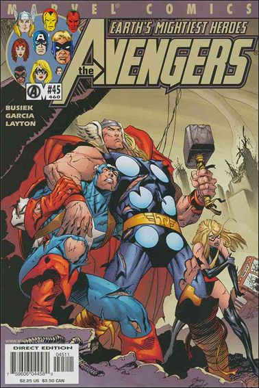 Avengers (1998) 45-A by Marvel