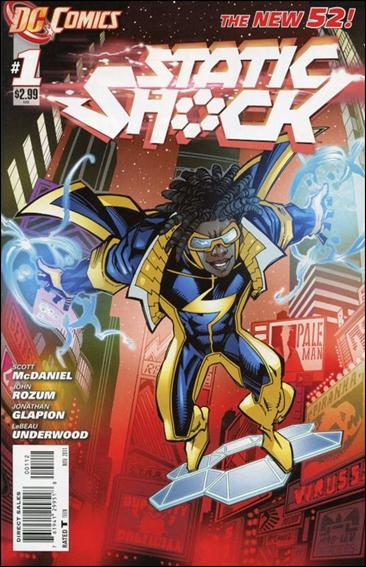 Static Shock 1-B by DC
