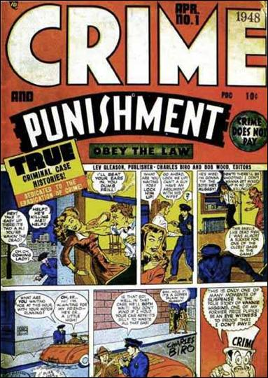 Crime and Punishment 1-A by Lev Gleason Productions