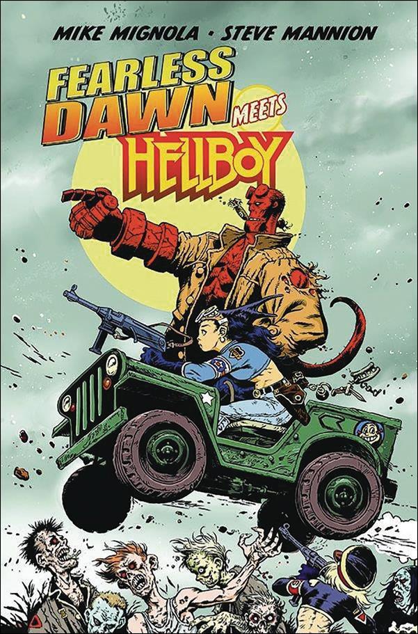 Fearless Dawn Meets Hellboy nn-A by Albatross Funnybooks