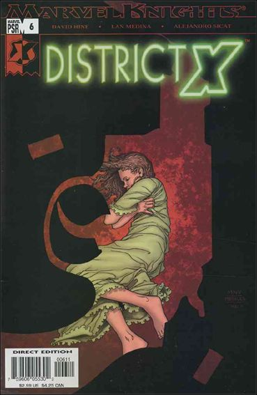 District X 6-A by Marvel