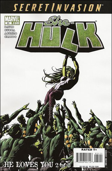 She-Hulk (2005) 31-A by Marvel