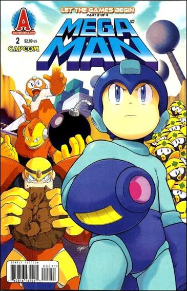 Mega Man 2-A by Archie