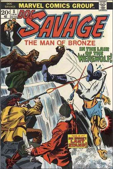 Doc Savage (1972) 8-A by Marvel
