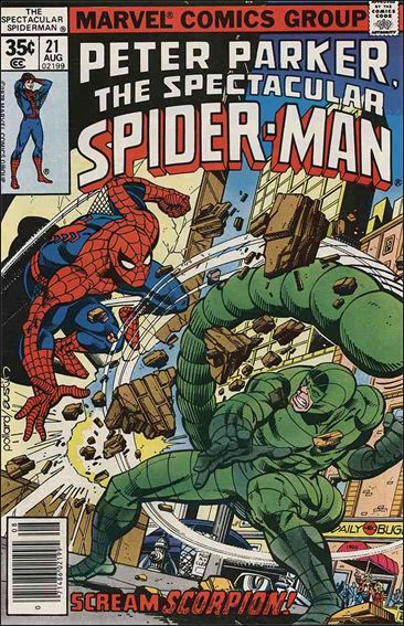Spectacular Spider-Man (1976) 21-A by Marvel