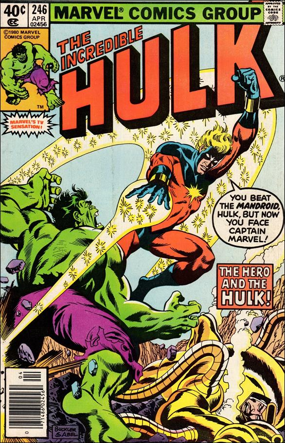 Incredible Hulk (1968) 246-A by Marvel