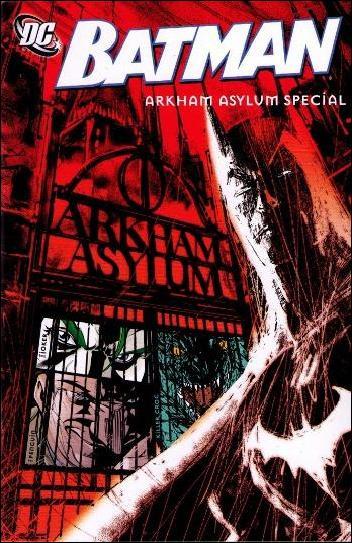 Batman: Arkham Asylum Special 1-A by DC