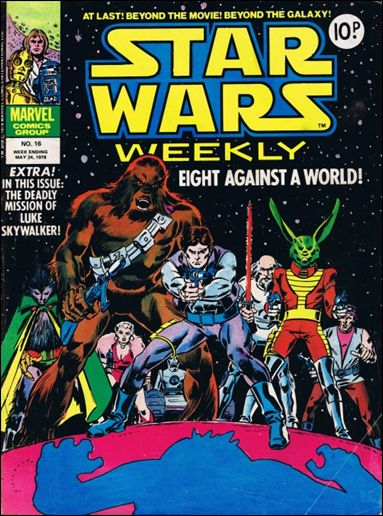 Star Wars Weekly (UK) 16-A by Marvel UK