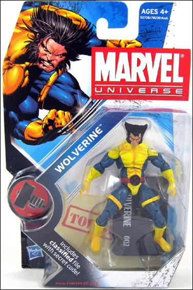 "Marvel Universe (Series 2) Wolverine ""Sad Face"" (Jim Lee Costume) by Hasbro"