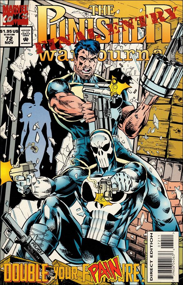 Punisher War Journal (1988) 72-A by Marvel