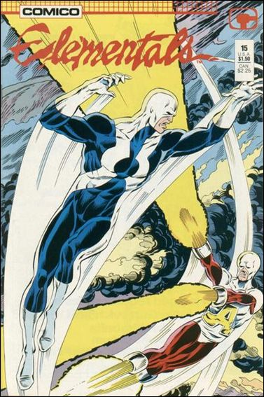 Elementals (1984) 15-A by Comico
