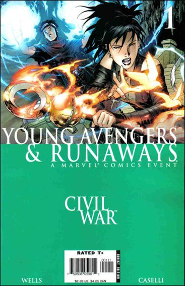 Civil War: Young Avengers & Runaways 1-A by Marvel