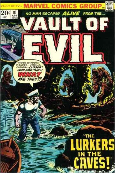 Vault of Evil 10-A by Marvel