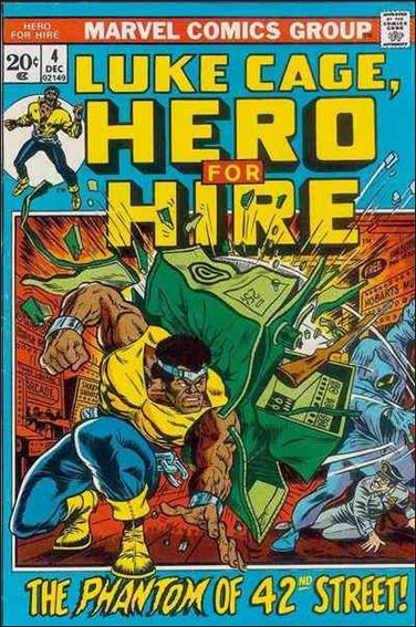 Hero for Hire 4-A by Marvel