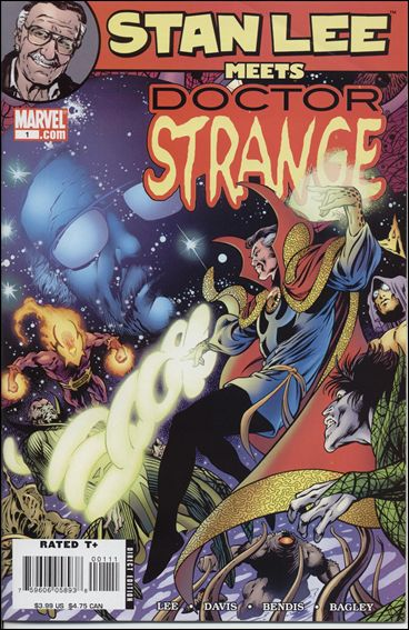 Stan Lee Meets Dr. Strange 1-A by Marvel