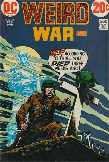 Weird War Tales (1971) 11-A by DC