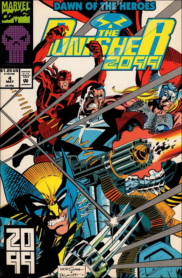 Punisher 2099 (1993) 4-A by Marvel