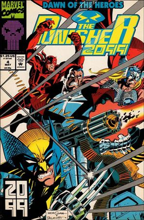 Punisher 2099 (1993) 4-A
