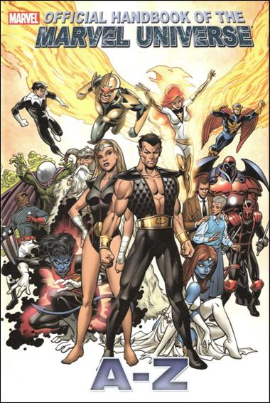 Official Handbook of the Marvel Universe A to Z 8-A by Marvel