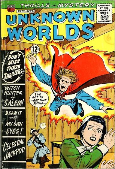 Unknown Worlds 18-A by American Comics Group (ACG)