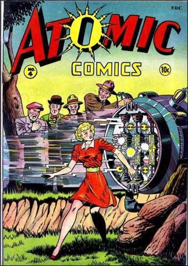 Atomic Comics 4-A by Green Publishing