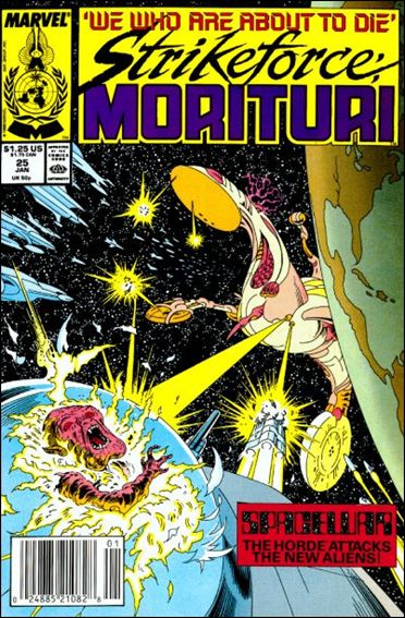 Strikeforce: Morituri 25-A by Marvel